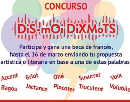 """Concurso │ """"Dis-moi, dix mots"""" │ hasta 16 marzo 2018"""