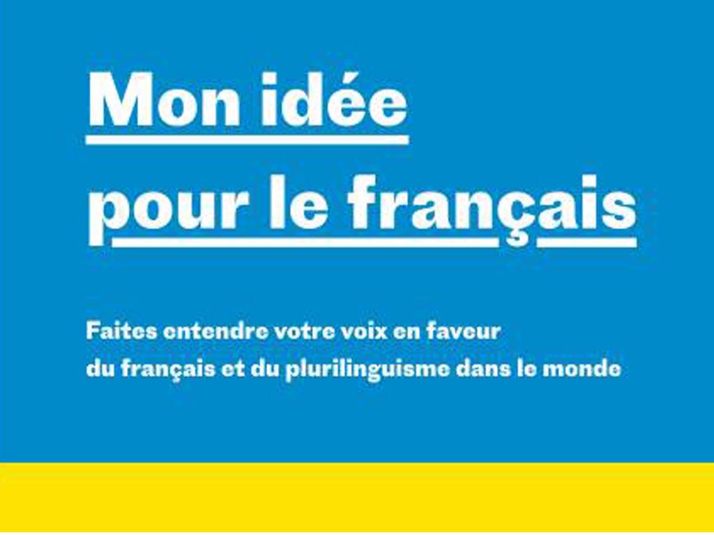 Mon idée pour le français │ Consulta pública mundial │ hasta 20 marzo 2018
