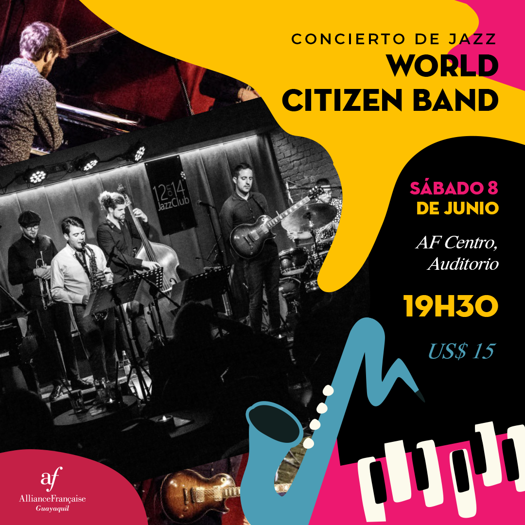 Concierto de Jazz - World Citizen Band