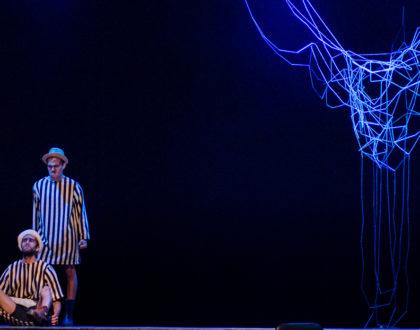 """Espectáculo de teatro """"Esperando a Godot"""" de Samuel Beckett"""