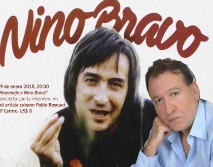 Concierto │ Homenaje a Nino Bravo │ 19 enero 2018
