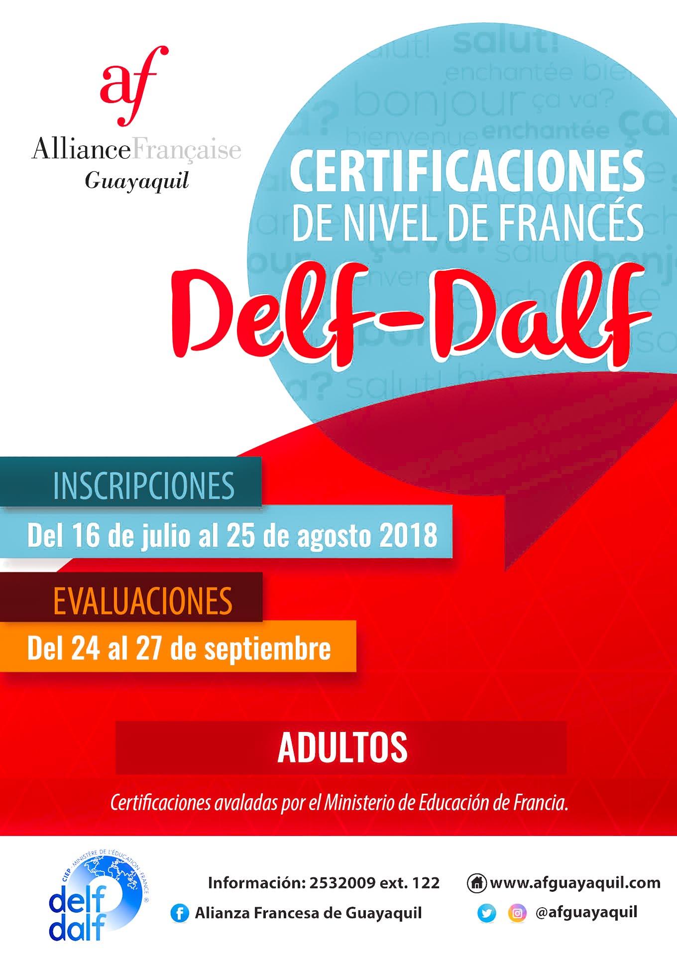 Inscripciones Exámenes Delf Dalf