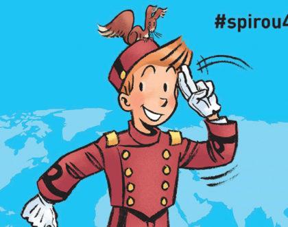 Exposición de cómics │ #spirou4rights │ del 7 al 28 dic.