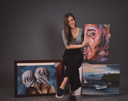 "Exposición de pinturas ""La Libertad"", de Juliette Mélières"
