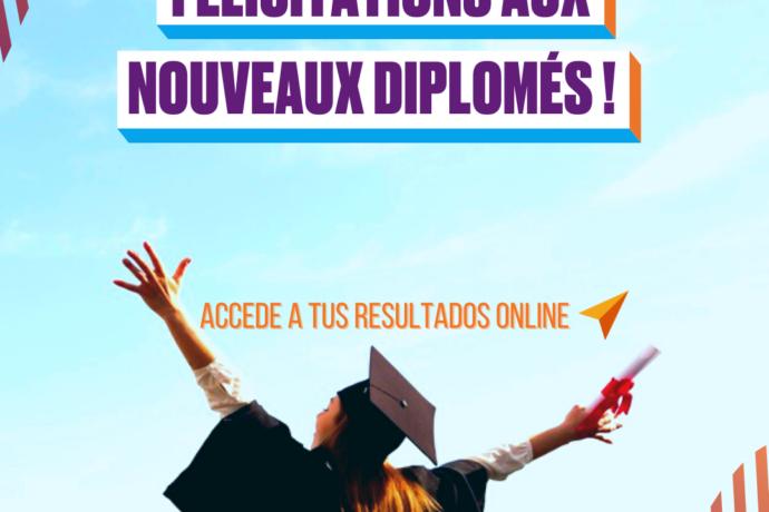 Felicitations Aux Nouveaux Diplomés!